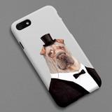 Tuxedo Aldo polycarbonate iPhone case