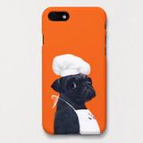 Pug pepper polycarbonate iPhone case