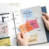 Ticket book - Piece of moment memory 3 ring binder