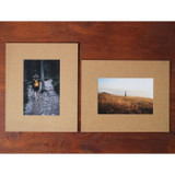 4X6 kraft paper photo frame set