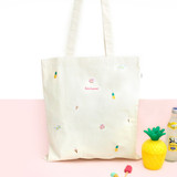 hello summer eco tote bag -01