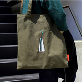 Lazy holiday paradise eco tote bag