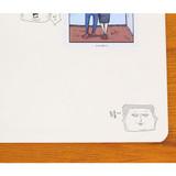 Cartoon - Inner voice thread stitching plain notebook