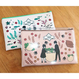 Boy and Girl cartoon zipper pouch