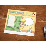 Happy life sticky memo note