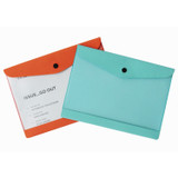 Premium business A5 clear file folder pouch