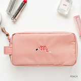 Peach - For your makeup cosmetic pouch bag