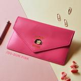 Pink - Du dum travel envelope passport case wallet
