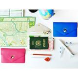 Du dum travel envelope passport case wallet