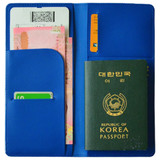 Du dum travel RFID blocking long passport case