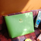 Powder green color pouch