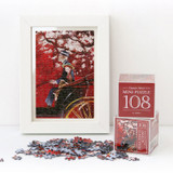 Anne of classic story 108 piece jigsaw puzzle - Red