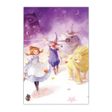 The wizard of OZ 108 piece jigsaw puzzle - Purple