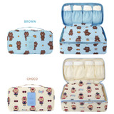 Option of Travel large pouch bag for underwear and bra