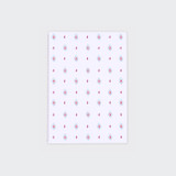 Campus pattern B6 lined notebook
