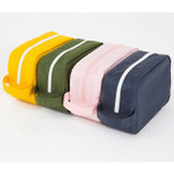 Weekade daily makeup cosmetic pouch bag