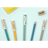 World literature pencil cap set