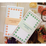 Option of Compact memo note card