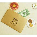 Antique keys small envelope set