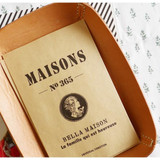 Bella maison postcard envelope set