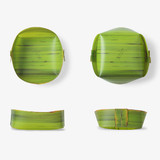 Banana leaf multipurpose tray - large