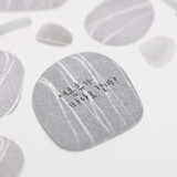 Pebble sticky memo notes - Small