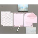 Petal - Pattern letter paper and envelope set for you