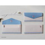 Blue rose - Retro pattern envelope set