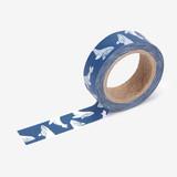 "Deco 0.59""X11yd masking tape single - Whale"