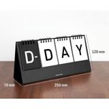 Size of Simple flip perpetual standing desk calendar