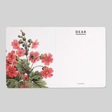 Flower illustration card set ver.3