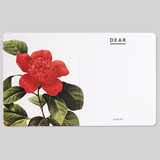 Flower illustration card set ver.4
