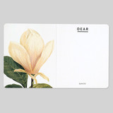Flower illustration card set ver.6