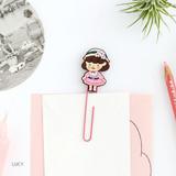 Lucy - Hellogeeks Petite parisien bookmark