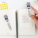 Mone - Hellogeeks Petite parisien bookmark