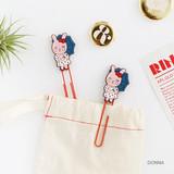 Donna - Hellogeeks Petite parisien bookmark