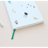 Ribbon bookmark - Todac Todac undated daily diary agenda