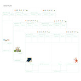 Daily plan - Todac Todac undated daily diary agenda
