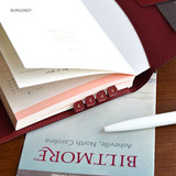 Burgundy - Fresh day PU adhesive index tab sticker
