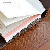 French brown - Fresh day PU adhesive index tab sticker