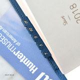 Navy blue - Smart day PU adhesive index tab sticker
