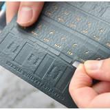 Smart day PU adhesive index tab sticker