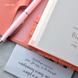 Coral pink - Smart day PU adhesive index tab sticker