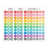 Composition of Bubble Bubble clear deco sticker set