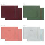 Colors of Agenda 54 weeks undated weekly diary