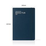 Size - 2018 Appointment A5 dated monthly planner agenda