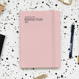 2018 Appointment A5 dated monthly planner agenda
