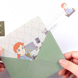 Anne of green gables letter paper and envelope set