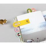 Choo Choo cat sticky memo notes bookmark
