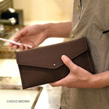Choco brown - Holiday travel hanging toiletry pouch bag